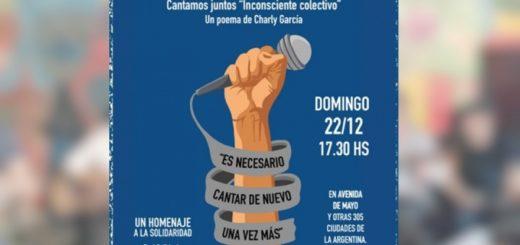 #CantArgentina: seguí en vivo el Festival Solidario en Buenos Aires