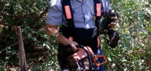 San José: recuperaron herramientas robadas y ocultas en el monte