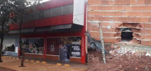 """Nuevo golpe de """"boqueteros"""", esta vez en Ruiz de Montoya"""