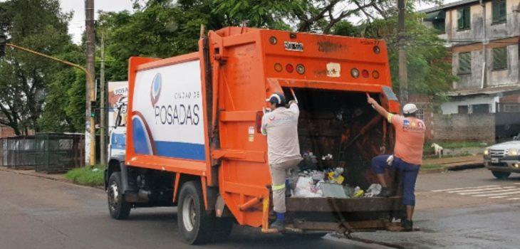 1 de enero sin recolección de residuos en Posadas: el servicio se reanudará a partir de mañana
