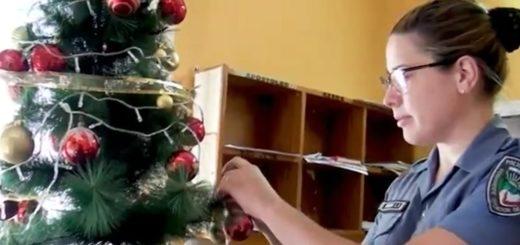 Video: la Policía de Misiones desea a toda la comunidad una Feliz Navidad
