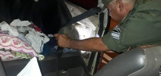 Interceptaron en Corrientes marihuana que venía de Ciudad del Este hacia Buenos Aires