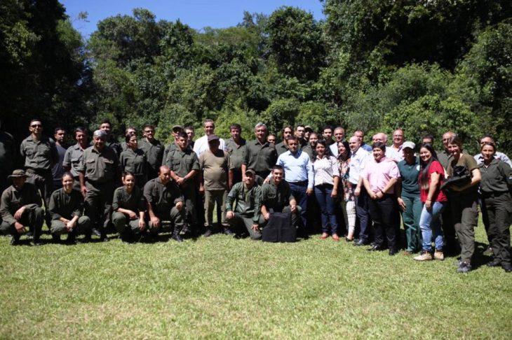 Guardaparques de Misiones recibieron equipamientos y por primera vez tendrán chalecos antibalas