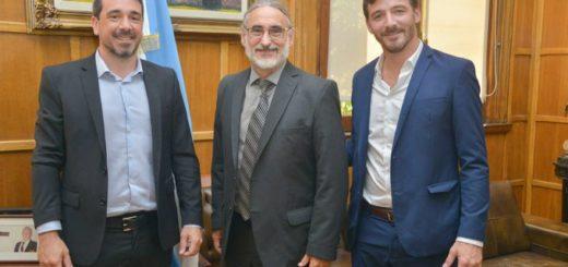 Sebastián Oriozabala se reunió con Luis Basterra