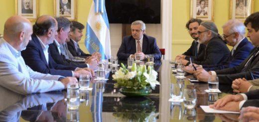 Alberto Fernández recibió a los referentes de la Mesa de Enlace