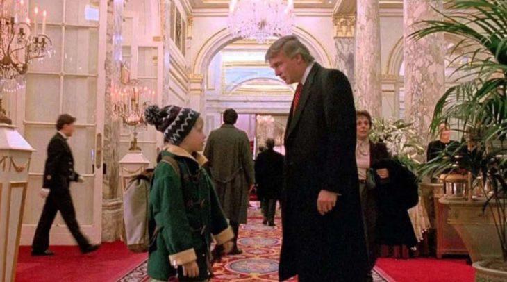 Donald Trump habló sobre su participación en «Mi pobre angelito 2»