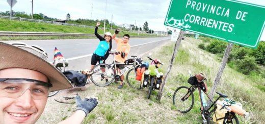 Travesía en bici Buenos Aires - Iguazú: 1300 km en 17 días por una mayor conciencia alimentaria