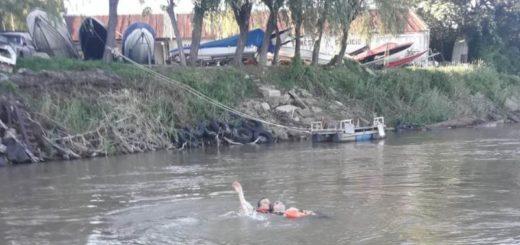 Prefectura salvó la vida de una mujer que cayó al río en Corrientes