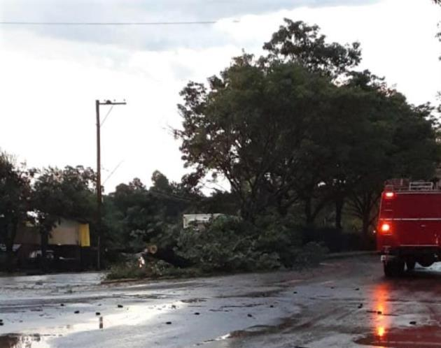 Temporal provocó daños materiales en Ruiz de Montoya y en Oberá