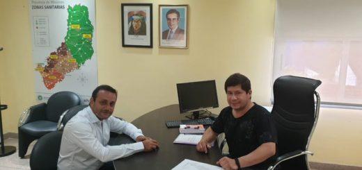 Herrera Ahuad se acercó al ministerio de Salud Pública para revisar el plan preparado para atender contingencias en los festejos de fin de año