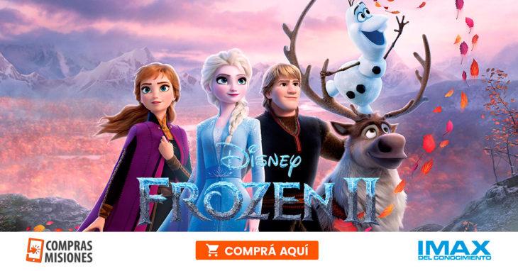 El frío más esperado llegó al IMAX: Frozen II desde hoy… Adquirí aquí las entradas por Internet