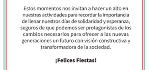 """""""Protagonistas de los cambios"""",  la salutación del intendente de Posadas Leonardo """"Lalo"""" Stelatto"""
