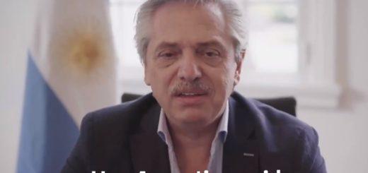 """En su mensaje de fin de año, Alberto Fernández pidió: """"Construir la Argentina que soñamos"""""""