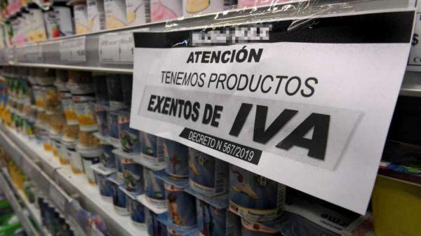Se terminó el IVA 0 para alimentos pero empresas no podrán aumentar más de 7% los precios