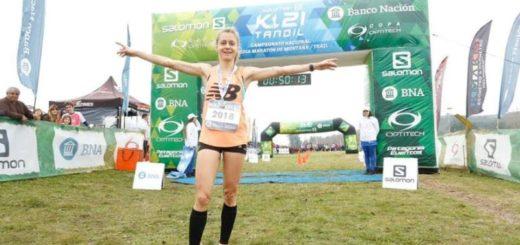 Running: la misionera Chiara Mainetti hizo podio en la tradicional carrera San Silvestre