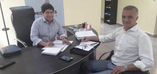 Carlos Arce se reunió con Oscar Alarcón para analizar las próximas políticas sanitarias a implementar en Misiones