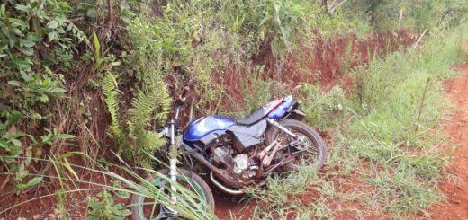 Policías recuperaron una moto robada en menos de 24 horas en Jardín América