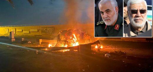 EE.UU. mató en un bombardeo con drones al militar más importante de Irán