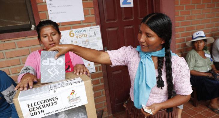 Bolivia elegirá democráticamente a sus nuevos representantes en mayo venidero