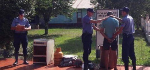 Colonia Aurora: la Policía detuvo a un hombre acusado de amenazas y robo