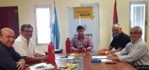 Coordinan acciones para el primer Consejo Regional de Salud del NEA que contará con la presencia de Gines González García