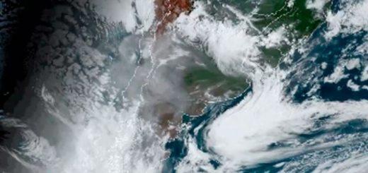 El Servicio Meteorológico Nacional informó que el humo de los incendios en Australia llegó a la Argentina