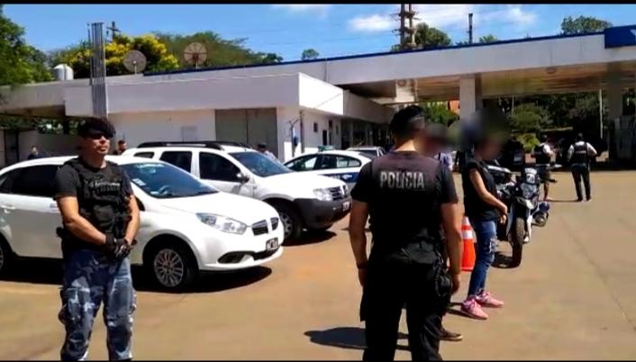"Desbaratan bandas de ""piratas delasfalto"" en Eldorado: operaban vestidos de Policía Federales"