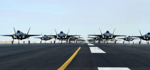 El ejercicio aéreo que muestra parte del poderío militar absoluto de los Estados Unidos