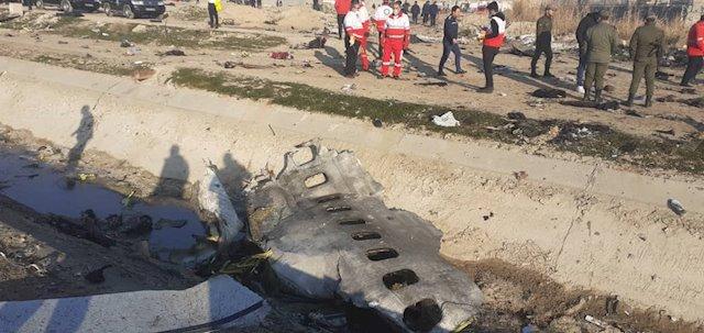 Tragedia aérea en Irán: 170 muertos tras estrellarse un avión ucraniano