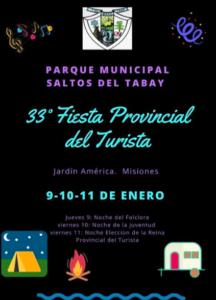 El Tabay se prepara para la 33° edición del Festival del Turista 2020