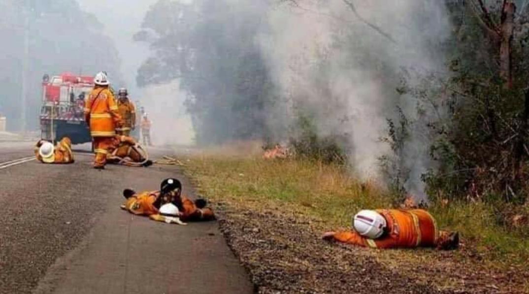 Vea las imágenes más impactantes del devastador incendio en Australia