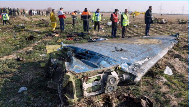 Difundieron imágenes del momento en el que el misil lanzado por Irán derribó al avión ucraniano