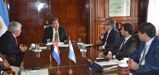 Sergio Lanziani se reunió con Duarte Frutos para ampliar la capacidad de generación de Yacyretá