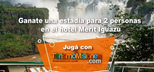 Contestá la trivia y ganate una estadía para dos personas en el hotel Merit de Puerto Iguazú