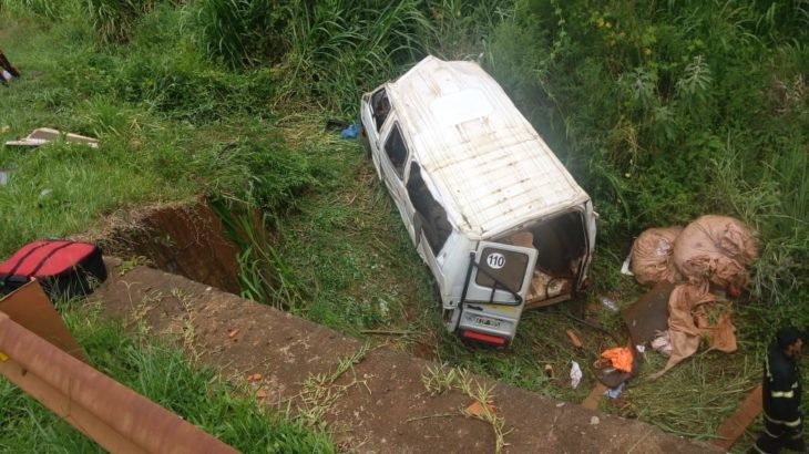 Accidente con tareferos: quedan seis heridos internados, uno de ellos de gravedad