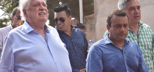 El ministro de Salud Ginés González García trajo el apoyo de la Nación para la lucha contra el dengue