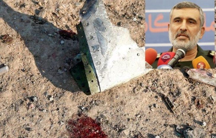 """Medio Oriente: un general iraní asumió la «responsabilidad total"""" por el ataque al avión"""