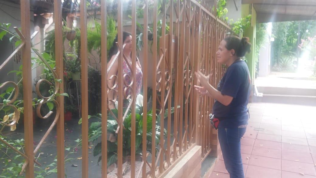 El equipo de la municipalidad de Posadas recorre los barrios con operativos de prevención contra el Dengue