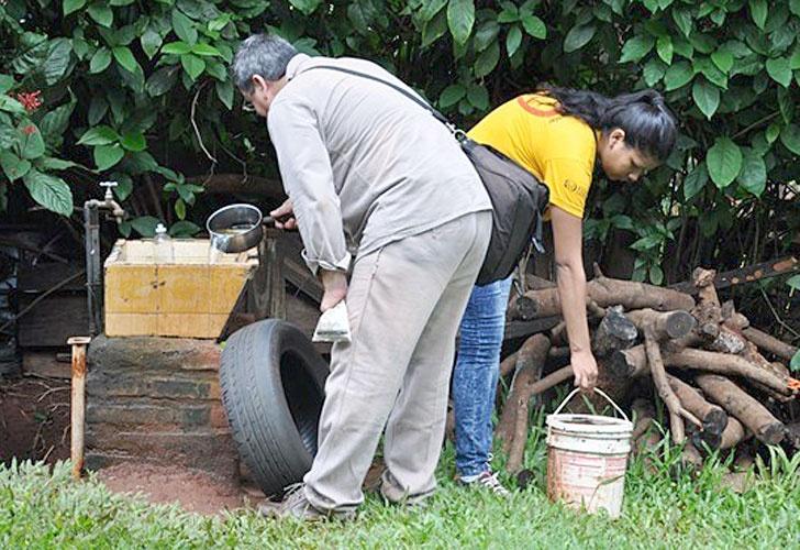 Andresito: continúan los trabajos de descacharrizado contra el Dengue