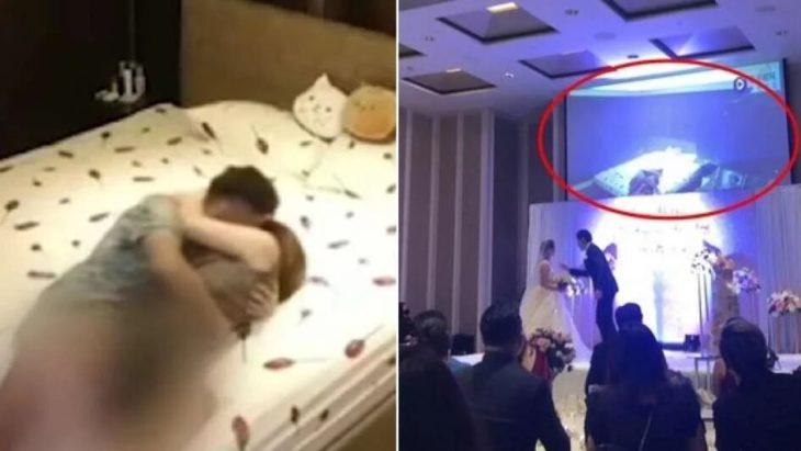 Escándalo: grabó a su novia teniendo sexo con su cuñado y la escrachó con el video en la boda