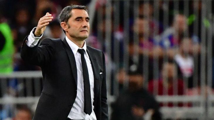 Ernesto Valverde dejó de ser el entrenador de Barcelona