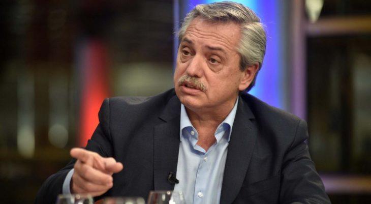"""Alberto Fernández sostuvo que """"en marzo o abril"""" revisarán el ingreso de los jubilados"""