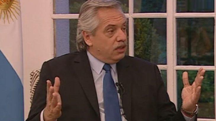 «El FMI ve por primera vez que alguien le dice la verdad», sostuvo Alberto Fernández