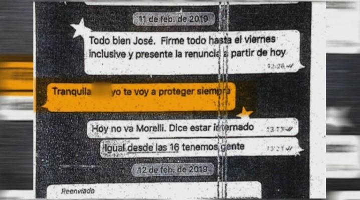 Se conocieron los chats que José Alperovich le enviaba a la víctima de abuso sexual