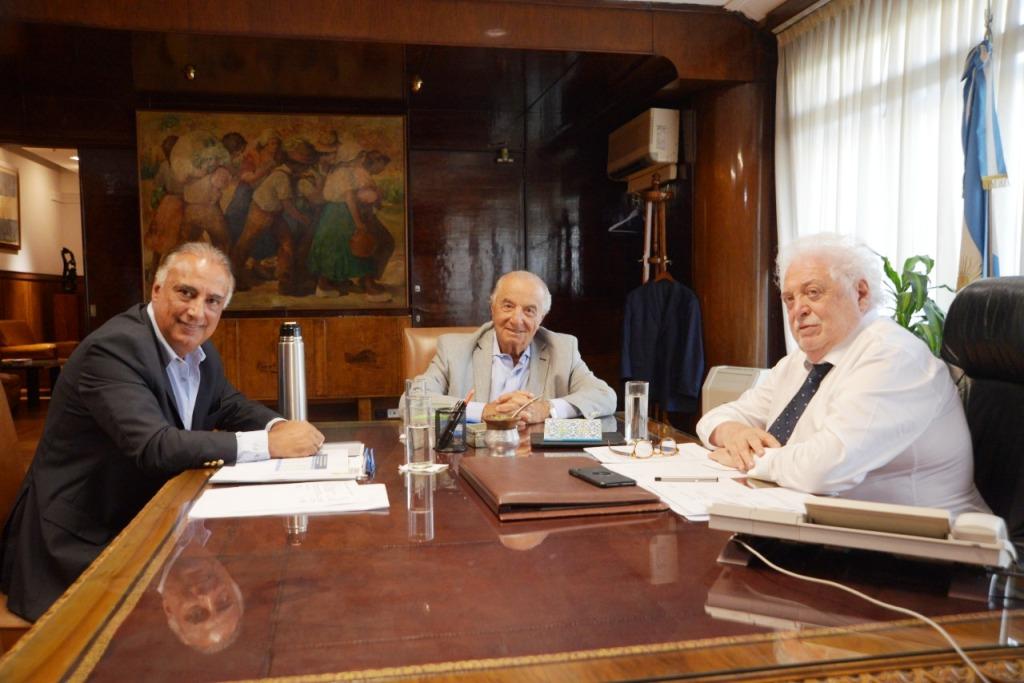 El ministro de Salud recibió a Cavalieri en el marco de la Emergencia Sanitaria