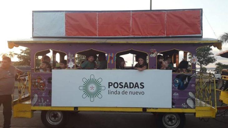 La municipalidad de Posadas ofrece paseos gratuitos en el trencito Chucu-Chucu para toda la familia