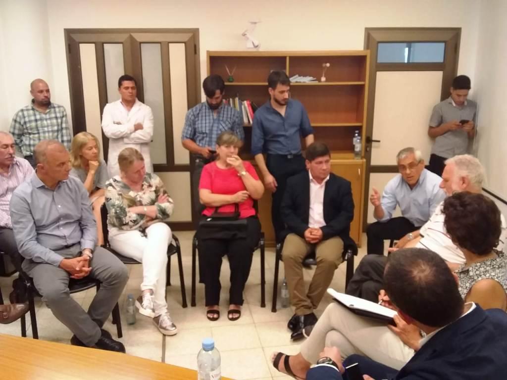 Representantes de la Embajada de Estados Unidos se interiorizaron sobre el sistema de salud de Misiones
