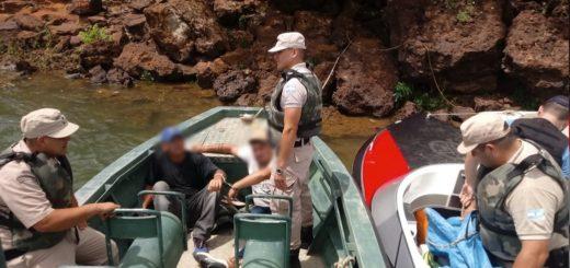 Corrientes: Prefectura secuestró más de 1200 kilos de marihuana y detuvo a dos personas