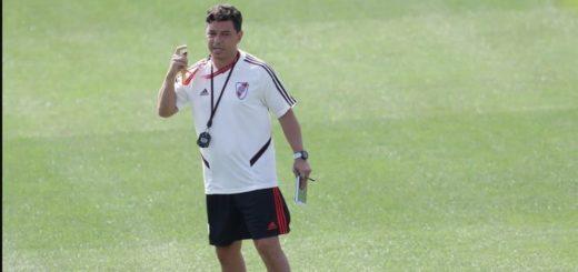 River: Gallardo analiza una variante táctica para enfrentar a Independiente