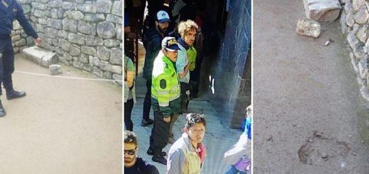 Machu Picchu: liberaron a dos de los tres argentinos que rompieron un templo